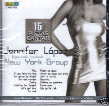 Jennifer Lopez 15 Pistas Para Cantar  Play Back   BAND NEW SEALED   CD
