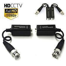 CCTV VIDEO BALUN BNC TO CAT5 UTP FOR HD CAMERAS AHD HD TVI CVI 1080P 3MP 4MP