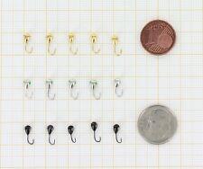 Tungsten Ice Fishing Jigs - Marmooska Winter Jig Heads (Hook #20, Weight 0.33gr)
