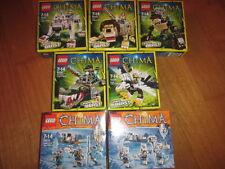 LEGO LEGENDS OF CHIMA LEGEND BEAST ANIMALI LEGGENDARI / TRIBE  Various avail.