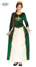 GUIRCA Costume regina dama medievale carnevale donna adulto mod. 8080_