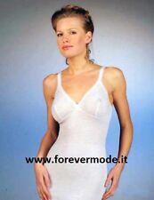 Canotta donna Gicipi a spalla stretta in misto lana con forma del seno art 41 SS