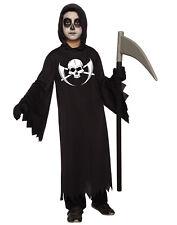 Dark Reaper Boys Child Grim Death Collector Halloween Costume