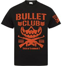 Bullet Club Halloween T-shirt -XS-XXXL- M/F- New Japan Villain NJPW Kenny Omega