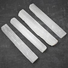 5-11cm Natural Selenite Stick Wand Rough Crystal Specimen Energy Healing Stone