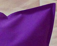 "Cushion Cover Plain Purple zipped 18""X18"" &  16""X16"" FREE p&p"