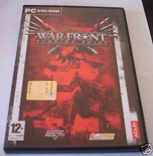 WAR FRONT Turning Point gioco pc originale strategia IT completo game videogioco