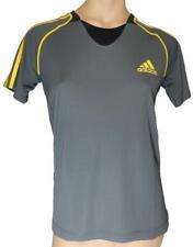 Adidas func S/s té W (gris/amarillo) t-shirt tamaños 32, 34, 36, 38, 40,42,44