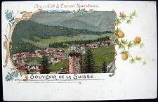 SWITZERLAND~SOUVENIR DE LA SUISSE~CHOCOLAT & CACAO MAESTRANI~PONTRESINA~ENGADIN