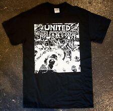 United Mutation - 'Rainbow Person' T-Shirt (punk kbd Minor SOA fugazi issue)