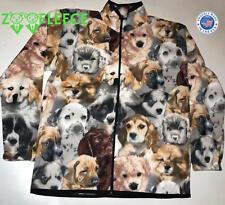 ZooFleece Jacket Dogs Puppy Coat Cloak Winter Ugly Sweater Unisex Gift S-3X