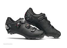 NEW 2019 Sidi DRAGON 5 MEGA Wide MTB Mountain Bike Shoes : MATTE BLACK