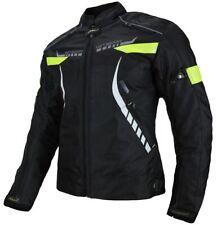 Heyberry Damen Motorradjacke Textil Schwarz Neon Gr. S M L XL XXL