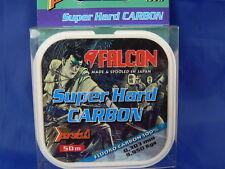 1 Bobina 50 mt Fluorocarbon Falcon super H.D. vari diametri, pesca mare, fiume