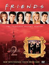 Friends - The Complete Second Season DVD, 2002, 4-Disc Set, Four Disc Set