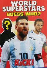 Kick Football Magazine Cards World Superstars Guess Who Card - Various Teams