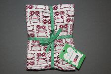 Green Cotton newborn Baby 2er Mulltücher diaper Windel Dotta Frog 70 x 70 cm