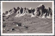 BOLZANO BOZEN PASSO GARDENA 01 Grödner Joch - CIR MONTAGNA Cartolina viagg. 1939