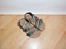 BNIB Birkenstock boys ELLICE camouflage man made summer sandals - various sizes