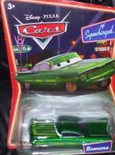 DISNEY Pixar Cars Diecast Supercharged GREEN RAMONE L5262