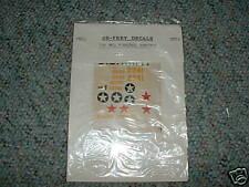 De-Frey 1/72 Sheet 5  decals Bell P39D/N/Q   MM
