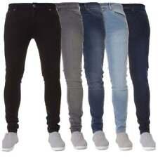 Enzo Hommes Neuve Marque Créateur Extensible Super Jeans Coupe Skinny