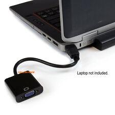 PC DVD Monitor Mini /Micro/ HDMI Male to VGA Female Video Converter Cable Cord