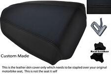 BLACK CUSTOM FITS APRILIA TUONO 1000 07-09 REAR PILLION SEAT COVER