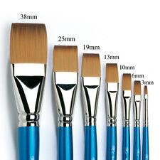 Winsor & Newton Artists Cotman Flat Single Brushes. Watercolour & Acrylic Paint