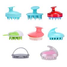 Silicone Scalp Shampoo Massage Brush Washing Massager Shower Head Hair Comb Nove