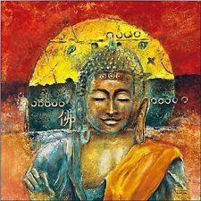Michael Tarin: A Buddha Chillout Keilrahmen-Bild Leinwand Friede Zen Feng-Shui