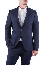 Giacca blazer uomo blu slim fit New One Mylologan 16051230