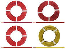 5m/50m Kabel Litze Zwillingslitze 2x0,14mm² Doppellitze Schaltlitze zweifarbig