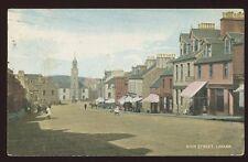 Scotland Lanarks LANARK High St 1907 PPC Hume Tea Room