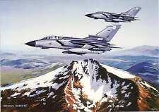 Panavia Tornado RAF Jet Fighter Ben Nevis Scotland  Greeting Card aircraft card