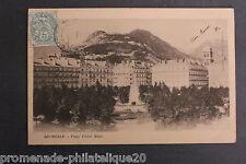 Carte postale ancienne GRENOBLE - Place Victor Hugo