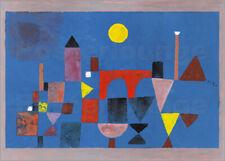 Cuadro de madera Red Bridge - Paul Klee