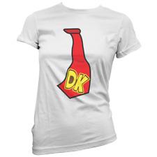 DK Tie Womens T-Shirt -x14 Colours- Gift Present Costume Fancy Dress Gaming Geek