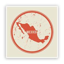 2 x Messico Vinile Adesivi Viaggio Bagagli # 7466