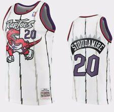 Men's Toronto Raptors Damon Stoudamire Mitchell & Ness White 1995-96 NBA Jersey