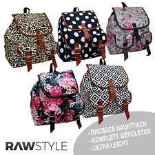 Rucksack Schulranzen Schultasche moderne stylischer Sommer Rucksack VINTAGE