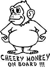 Cheeky Monkey On Board