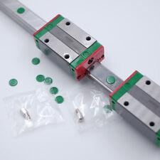 HIWIN 15mm Linear Rail Guide EGR15& 2pc EGH15CA Rail Block CNC Laser Woodworking