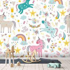 3D Cute Unicorn Graffiti 5 Wall Paper Wall Print Decal Deco Indoor Wall Mural CA