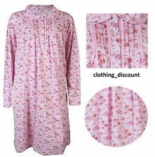 Ladies Womans Pink Floral Nightdress pyajams 8 10 12 14 16 18 20 22 Bonmarche