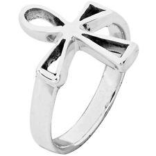 Cutout Ankh Ring