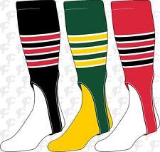 TCK 9-Stripe Stirrups Baseball Softball Twin City Stirrup Socks, Made In The USA