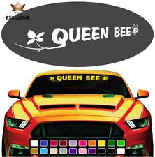 Queen Bee Cool Fun Windshield Window Vinyl Car Decals Truck Decals