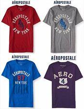 NWT Aeropostale Men's 3XL Appliquéd Graphic T Shirt XXXL Blue,Navy,Grey 3x New!!