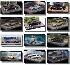 James Bond Cars with diorama 1/43 Brand New